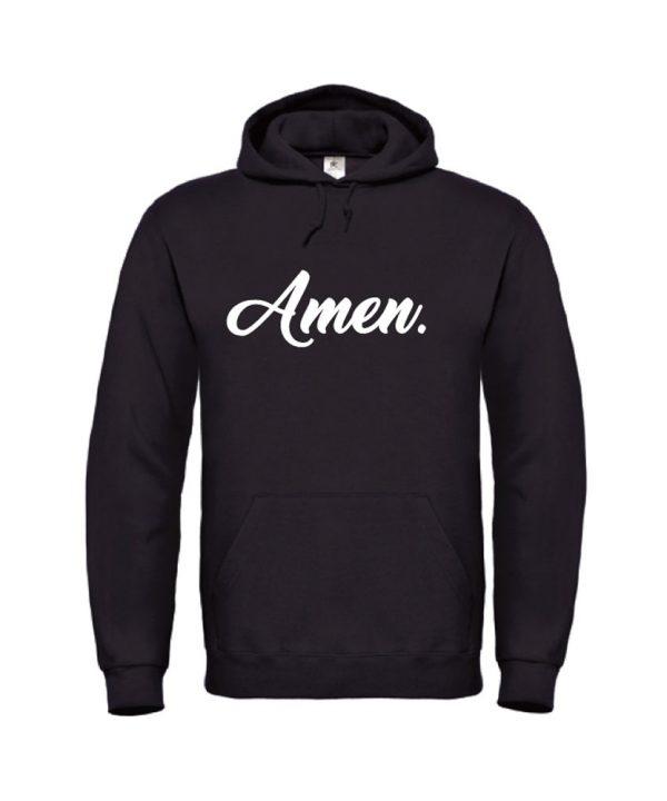 soBAD.-Amen-hoodie zwart