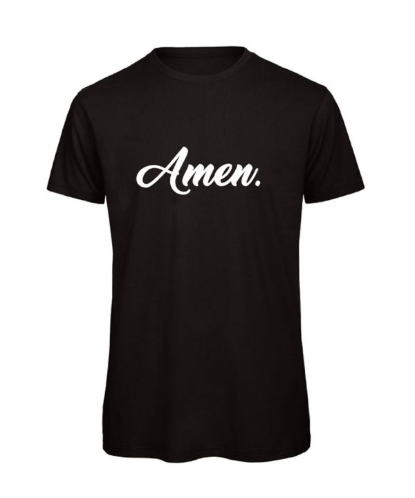 soBAD.-Amen-shirt zwart