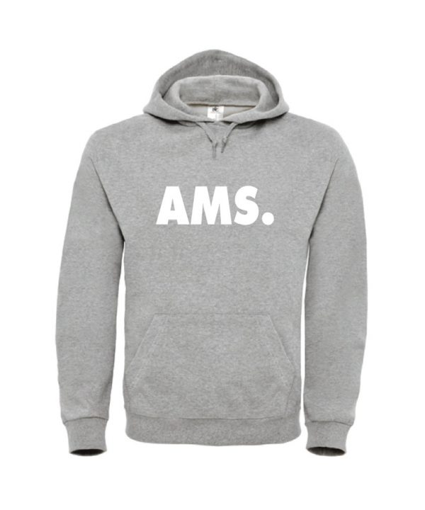 soBAD.-AMS Amsterdam-hoodie grijs