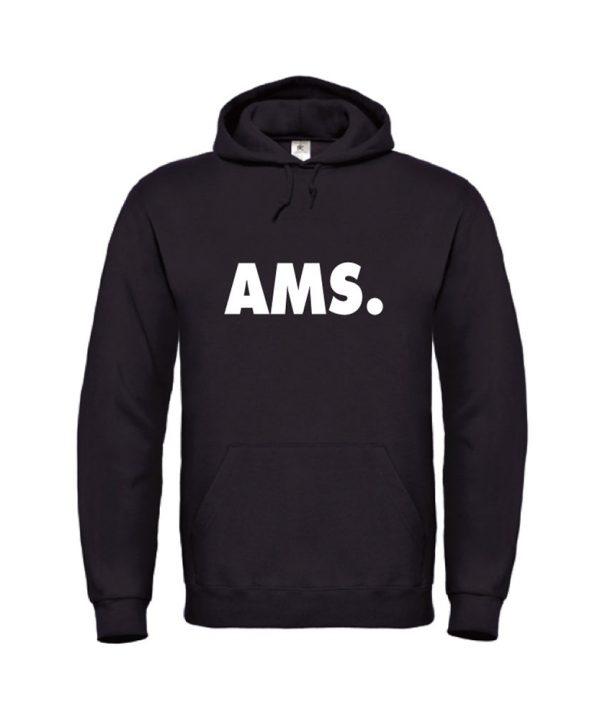 soBAD.-AMS Amsterdam-hoodie zwart