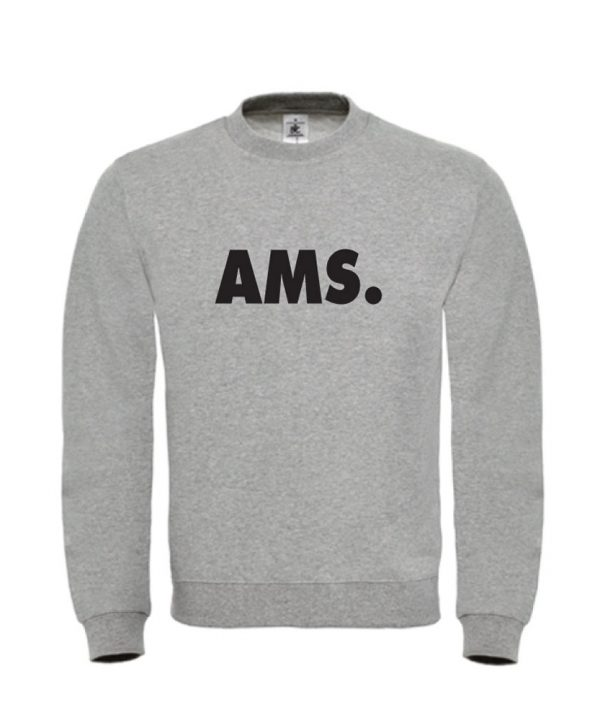soBAD.-AMS Amsterdam-sweater grijs
