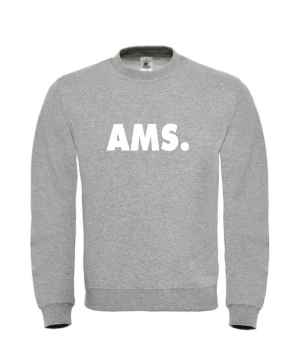 soBAD.-AMS Amsterdam-sweater grijs