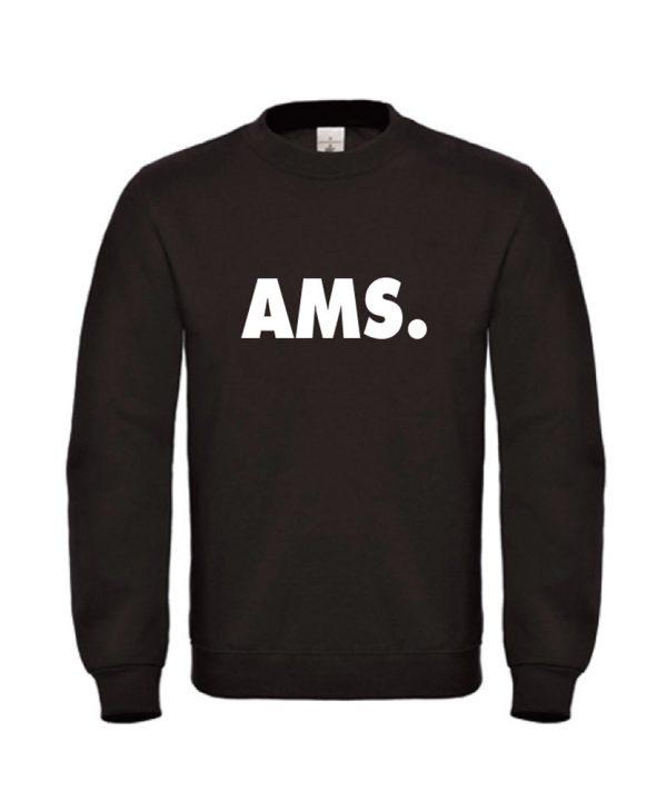 soBAD.-AMS Amsterdam-sweater zwart
