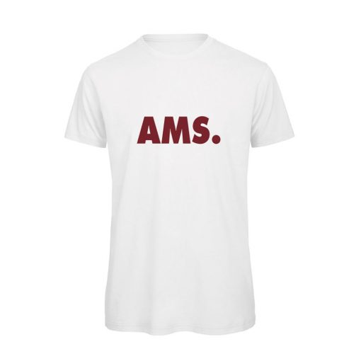 soBAD.-AMS Amsterdam-t-shirt wit
