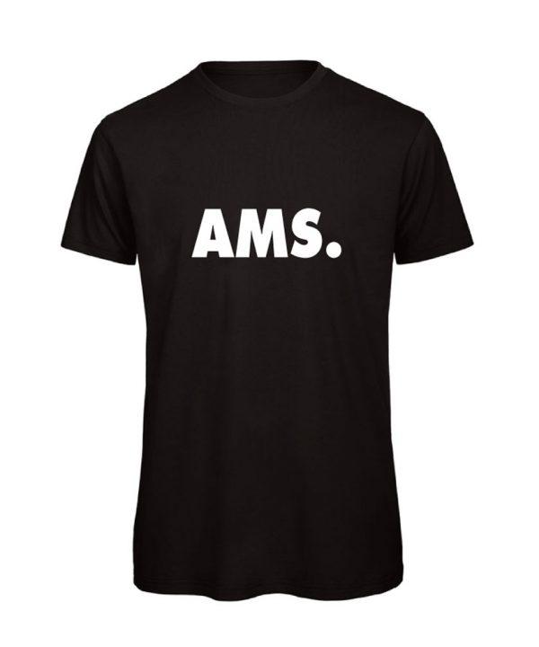 soBAD.-AMS Amsterdam-shirt zwart