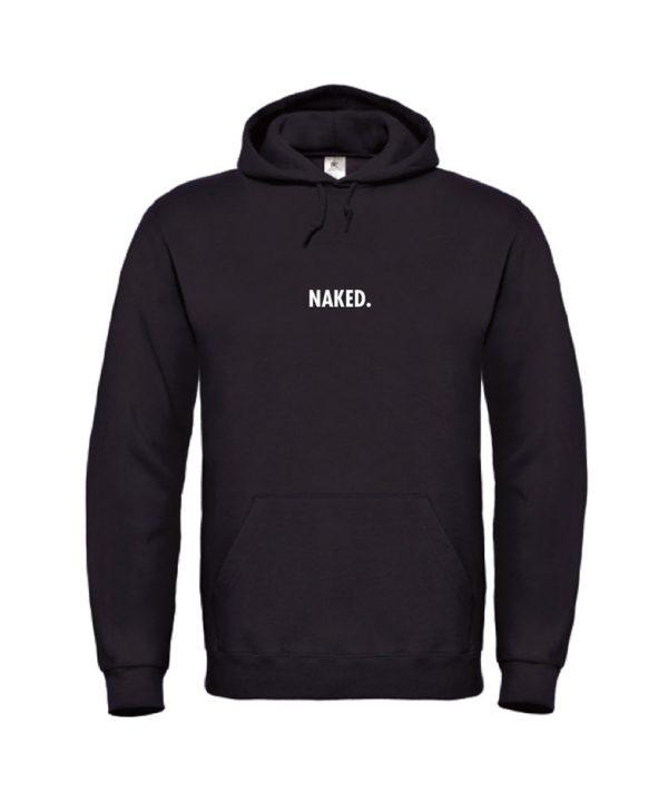 soBAD.-Naked-hoodie zwart