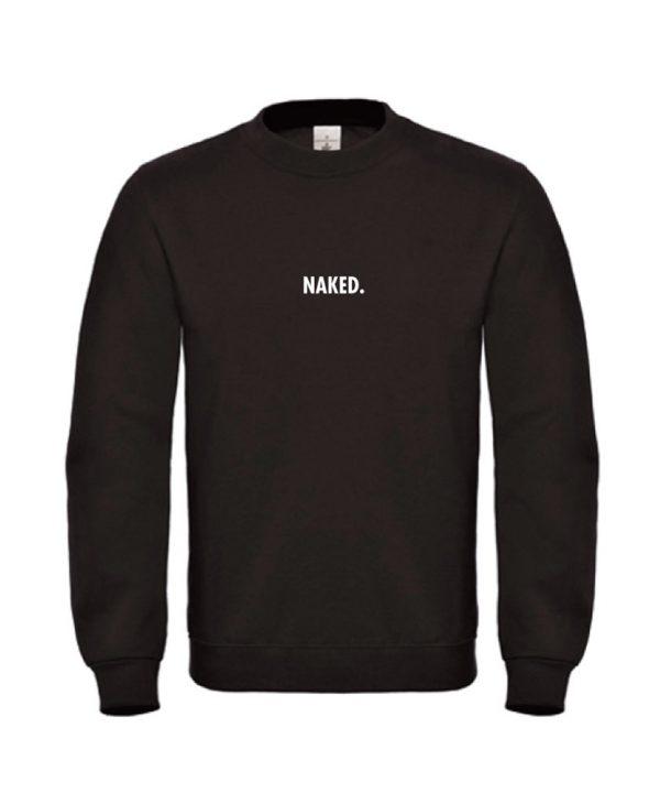 soBAD.-Naked-sweater zwart