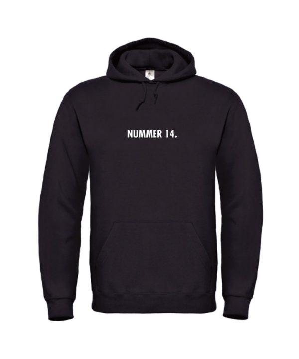 soBAD.-Nummer 14 Johan Cruijff-hoodie zwart