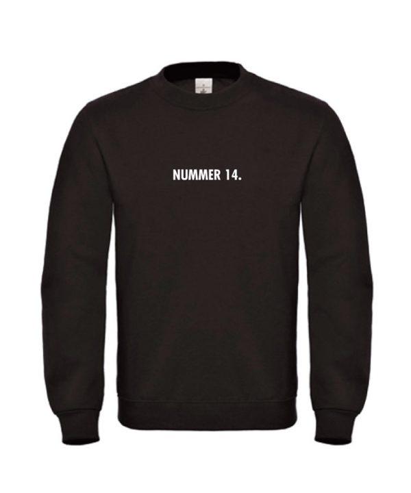 soBAD.-Nummer 14 Johan Cruijff - Sweater zwart
