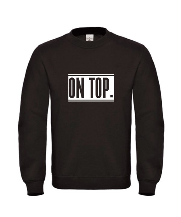 SoBad-ON-TOP2-Sweater zwart
