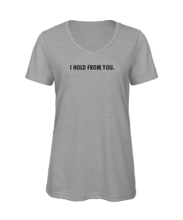 soBAD.-I hold from you-V-shirt grijs