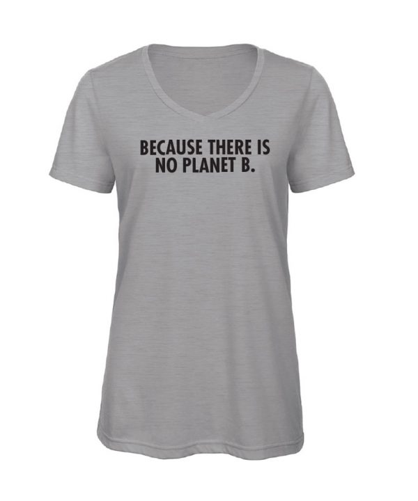 soBAD.-Because there is no planet B.-V-shirt grijs