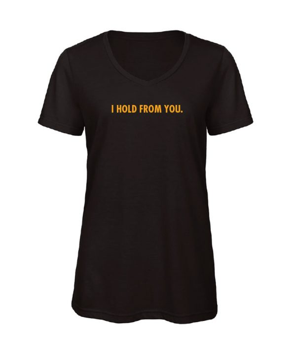 soBAD.-I hold from you-V-shirt zwart