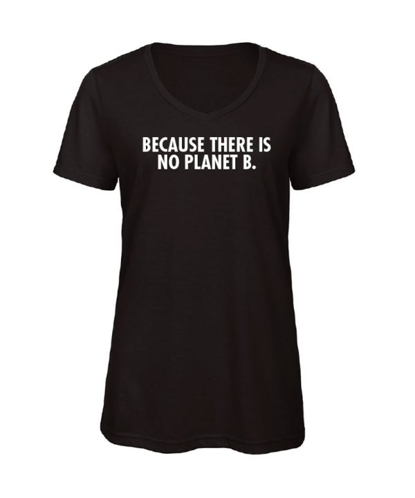 soBAD.-Because there is no planet B.-V-shirt zwart