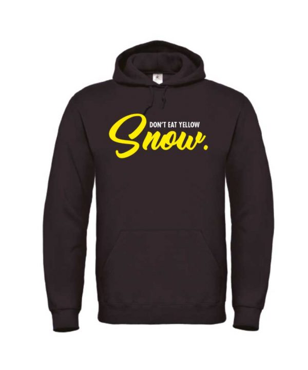 soBAD - hoodie - zwart - wintersport