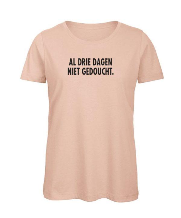 T-shirt - Al drie dagen niet gedoucht - Corona - soBAD.