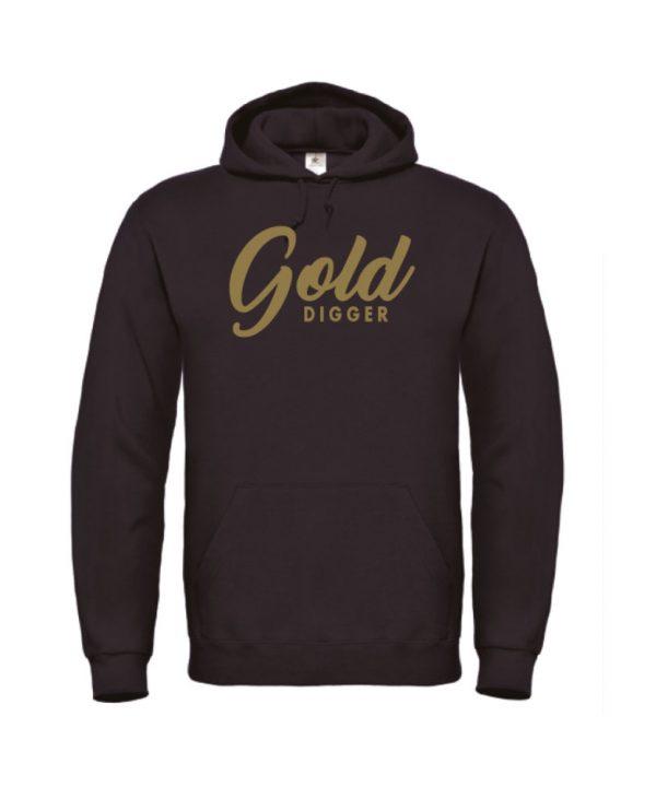 Hoodie - Golddigger - soBAD.
