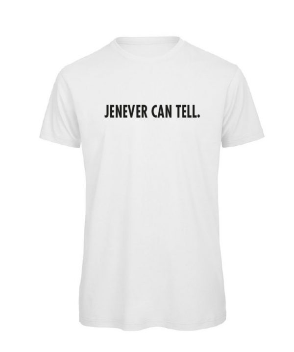 Jenever can tell - t-shirt zwart soBAD.