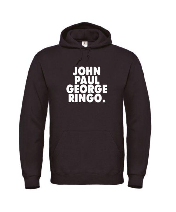 Hoodie - Beatles John, Paul, George, Ringo - soBAD.