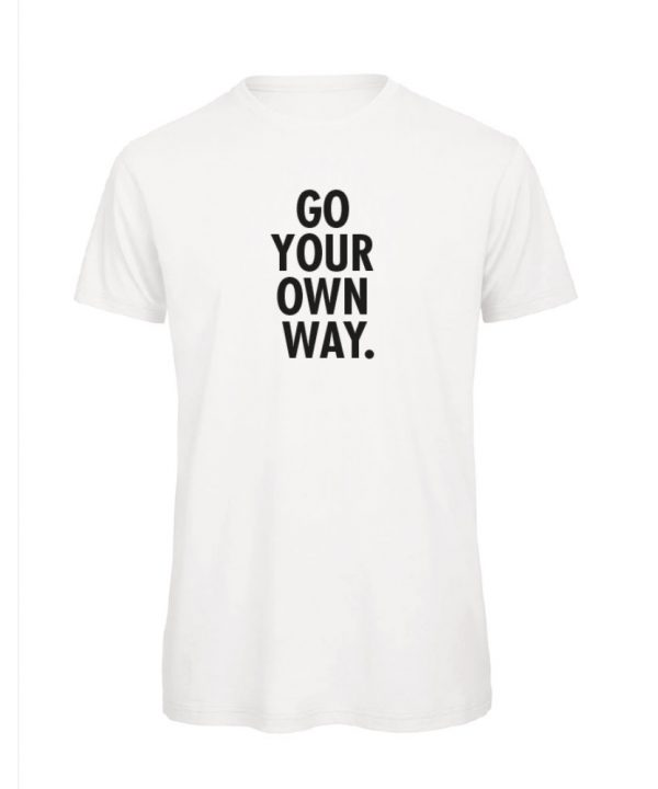 T-shirt - Go your own way - sobad.