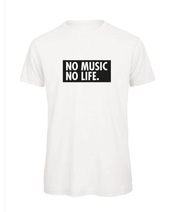 T-shirt - No music no life. - sobad.