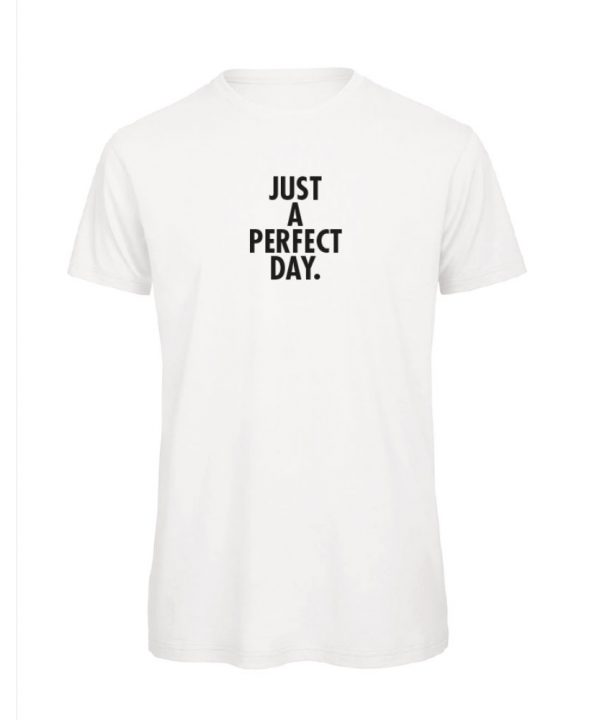 T-shirt - Just a perfect day. - sobad.