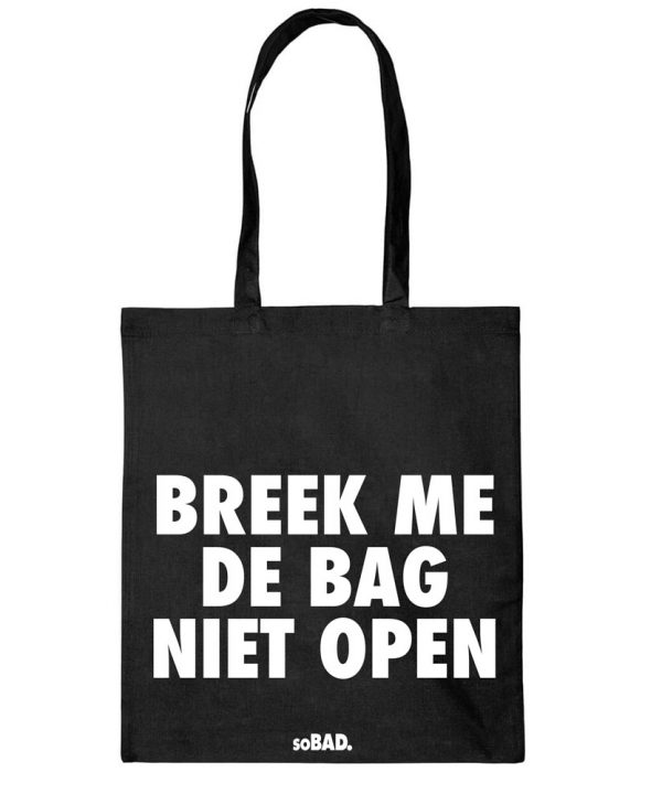 Bags - Breek me de bag niet open. - soBAD.