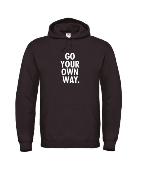Hoodie - Go your own way - sobad.