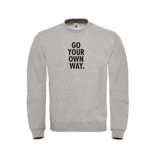 Sweater - Go your own way - sobad.