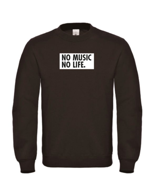 Sweater - No music no life - sobad.