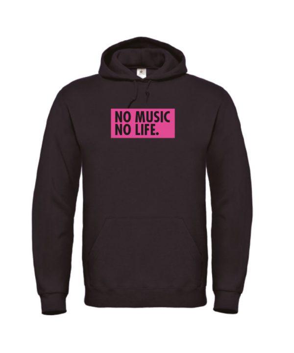 Hoodie - No music no life - sobad.