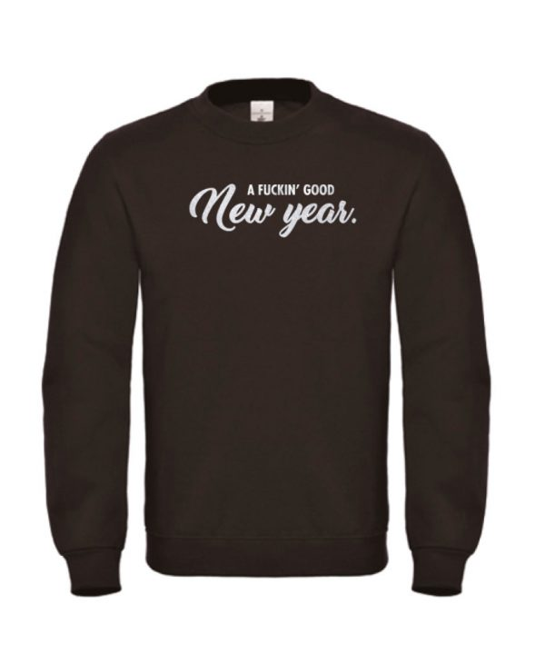 Sweater - a fuckin good new year - soBAD.