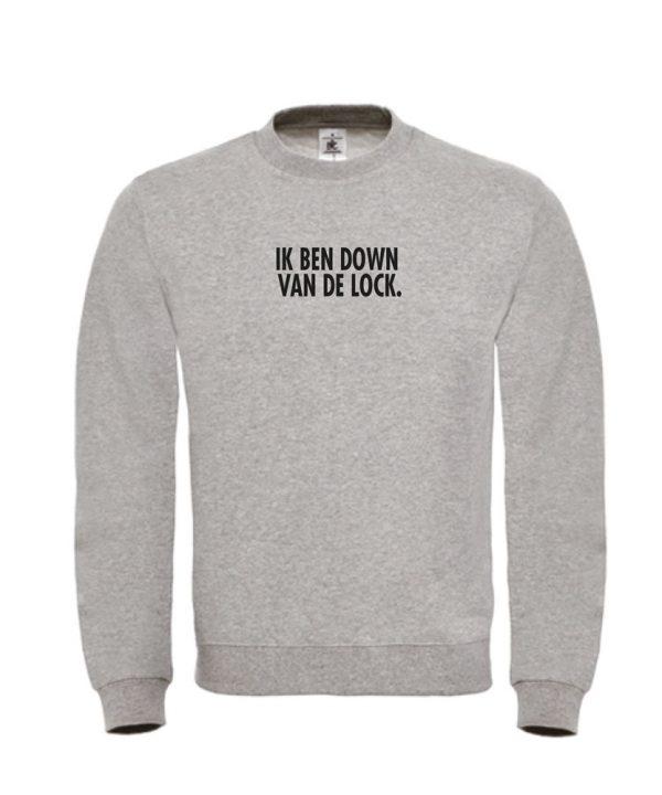 Sweater - Ik ben down van de lock - Corona - soBAD.