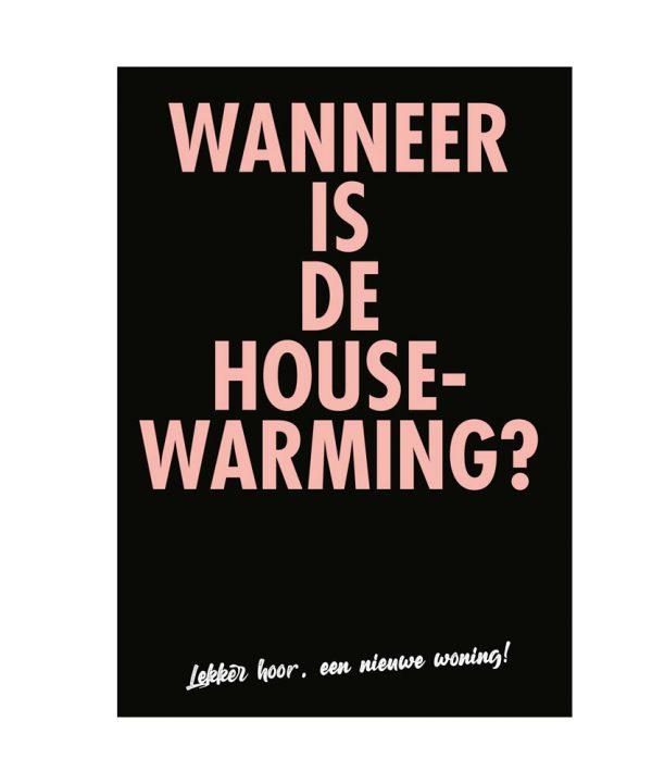 Nieuwe woning - Wanneer is de housewarming? - soBAD.