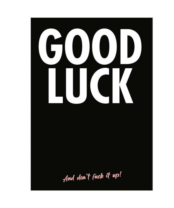 Zomaar - Good luck! - soBAD.
