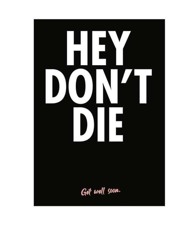 Beterschap - Hey don't die - soBAD.