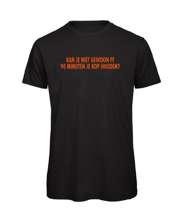 T-shirt - Kan je niet gewoon ff - soBAD.