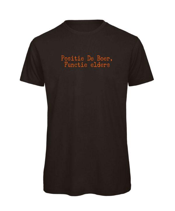 T-shirt - Positie De Boer - soBAD.