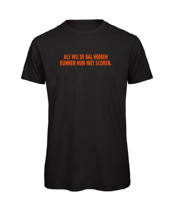 T-shirt - als wij de bal hebben - Johan Cruijff - soBAD. - EK