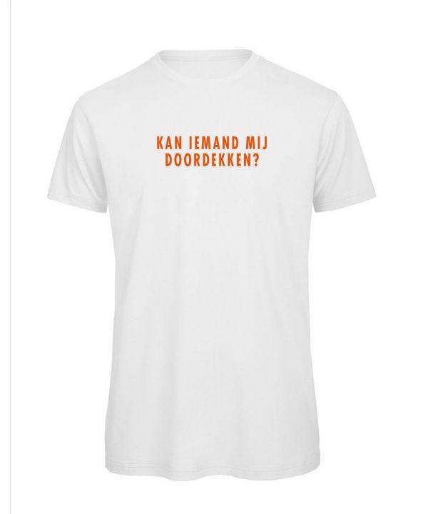 T-shirt - Kan iemand mij doordekken? - soBAD.