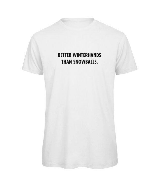 T-shirt-iedere bocht is er een teveel-soBAD.