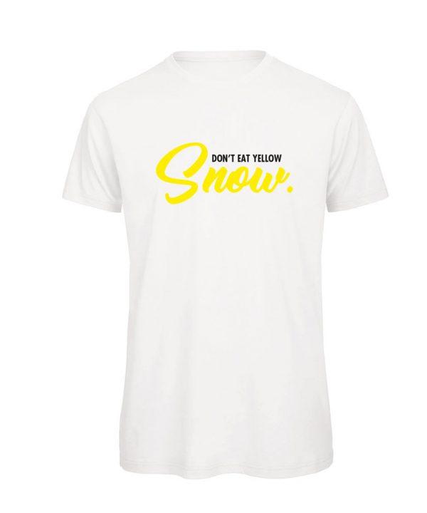 T-shirt-don't eat yellow snow-soBAD.